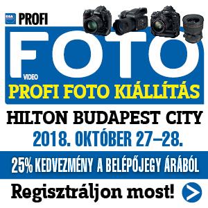 III. PROFI FOTO Kiállítás 2018 07.18.