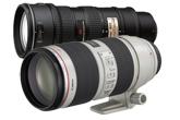 Canon és Nikon 70-200 f2,8A nagyvasak