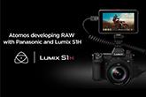 Lumix S1H és Atomos Ninja V – Raw adatátvitel