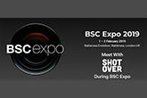 SHOTOVER a BSC Expo kiállításon, Londonban