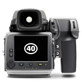 Itt a Hasselblad H4D40
