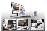 Négy monitor egyben: megérkezett az LG óriáskijelzője