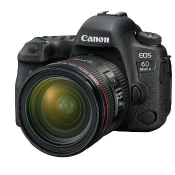 Canon EOS 6D Mark II: itt az új nagyágyú