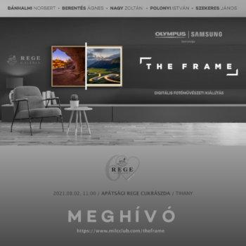 The Frame: Digitális Fotóművészeti Kiállítás Tihanyban