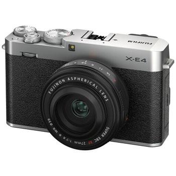 Fujifilm X-E4 és két új objektív