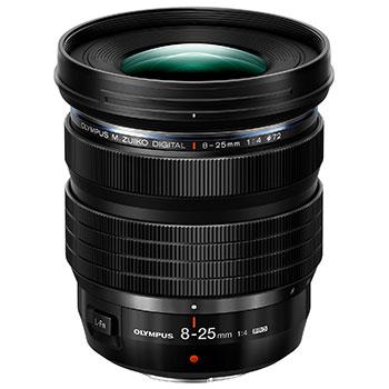 M.ZUIKO 8-25mm f4.0 PRO: új zoom objektív micro 4/3-ra