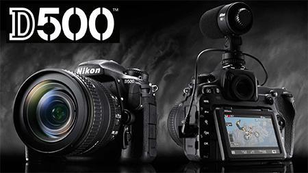 Eisa díjas a Nikon D500!